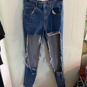 •Ragged Priest• SUPER Distressed Skinny Jeans